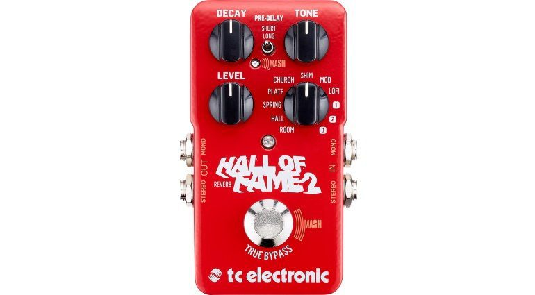 TC Electronic Hall Of Fame 2 Reverb Effekt Pedal Front