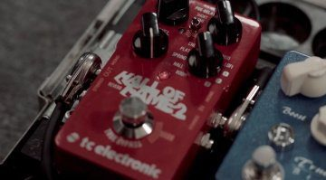 TC Electronic Hall Of Fame 2 Reverb Effekt Pedal Teaser