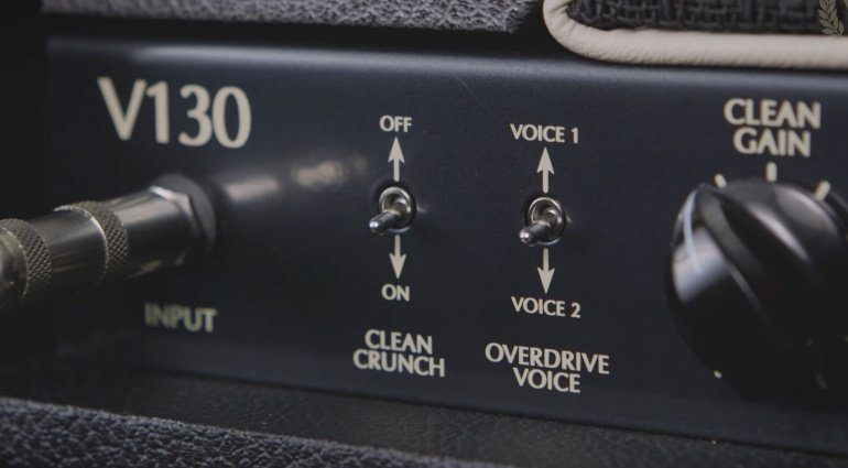 Victory Amps V130 The Super Countess Topteil Front Close Up oicing