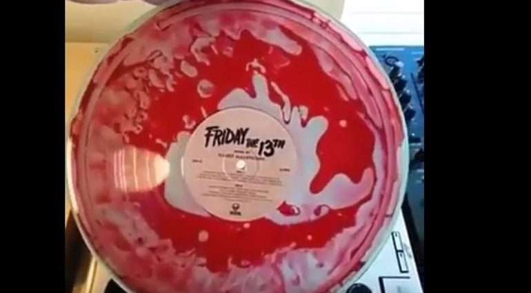 Vinyl Pressung Freitag der 13