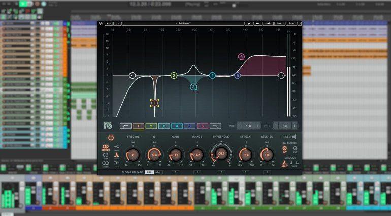 waves f6 dynamic equalizer plug in