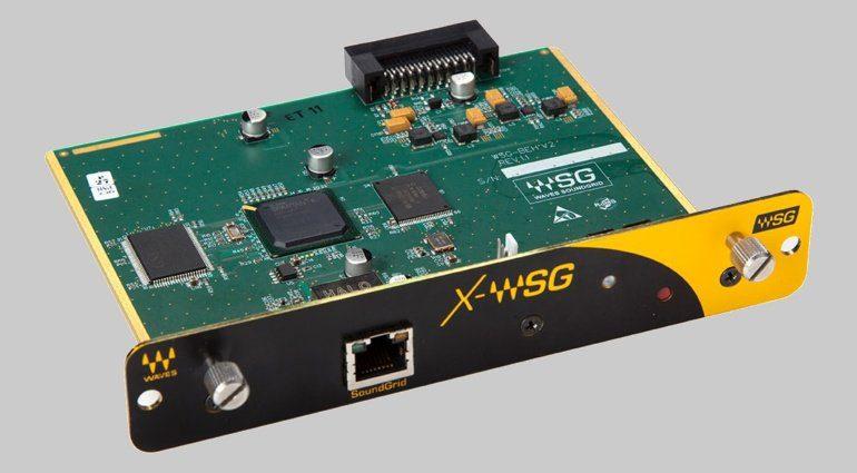 Waves X-WSG I/O Card - Plug-ins für X32 und M32 Konsolen über SoundGrid
