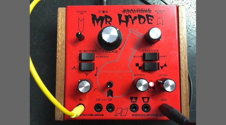 Analogue Solutions Mr Hyde Front