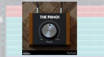 Audio Assault The Punch Plug-in Effekt GUI Cubase