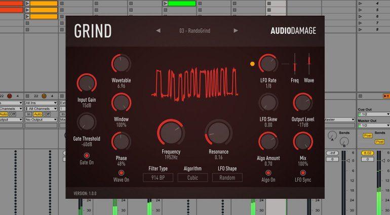 Audio Damage Grind - Zerstörung mit Charakter