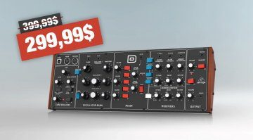 Behringer D Synthesizer Pricedrop