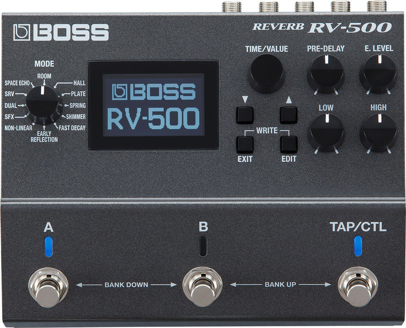 Boss RV-500 Effekt Pedal Top