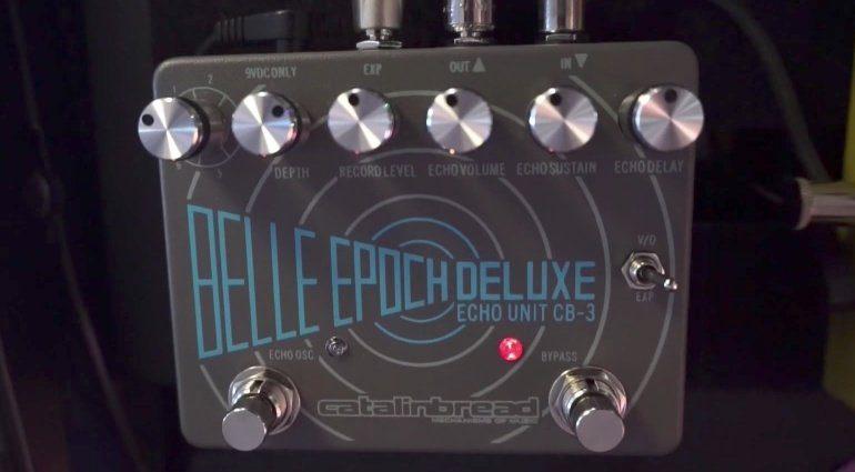 Catalinbread Belle Epoch Deluxe Effekt Pedal Band Echo Front