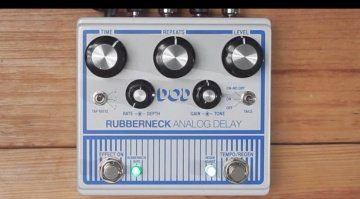 DOD Rubberneck Analog Delay Front