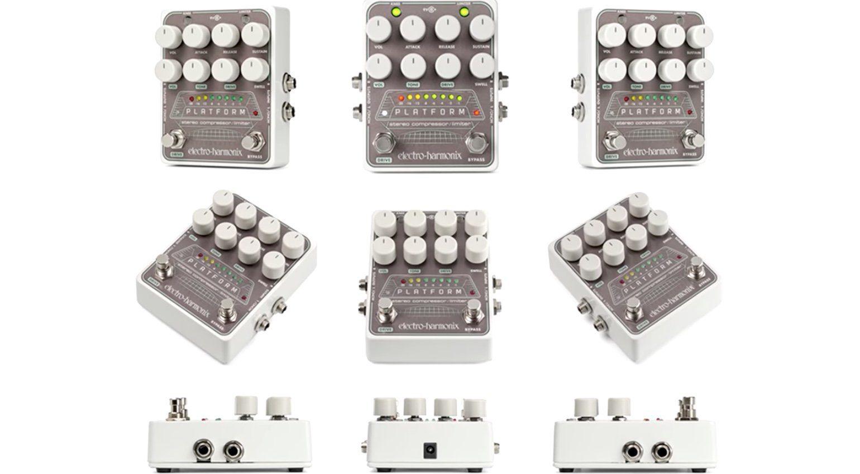 Electro Harmonix EHX Platform Kompressor Effekt PEdal Ansichten