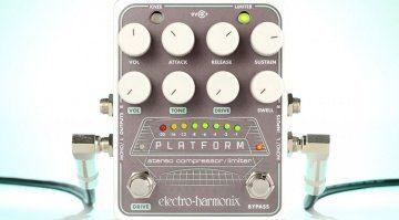 Electro Harmonix EHX Platform Kompressor Effekt PEdal Front Teaser