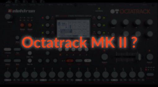Elektron Octatrack MK II Leak Front Mockup Teaser