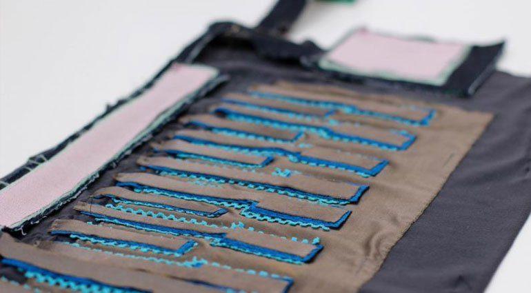 FabricKeyboard Front Slant