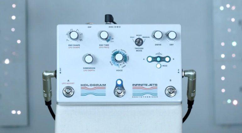 Hologram Infinite Jets - unendlicher Resynthesizer als Pedal
