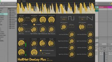 HoRNet Deelay Plus - das kreative digitale Delay