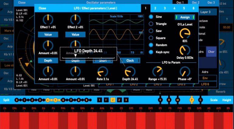 SynthScaper - der Soundscape Synthesizer für iPhone und iPad