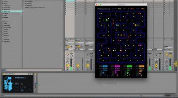 PacMan für Live - zocken in der DAW mit Ghosts