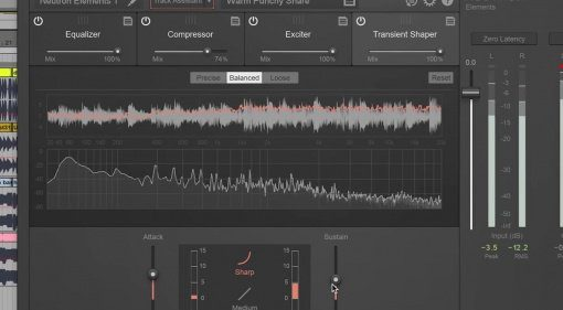 iZotope Neutron Elements PLug-in Effekt GUI