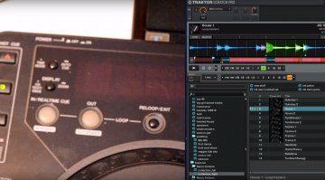 MIDI-konvertierter CDJ-1000 auf Tuchfühlung mit Native Instruments Traktor