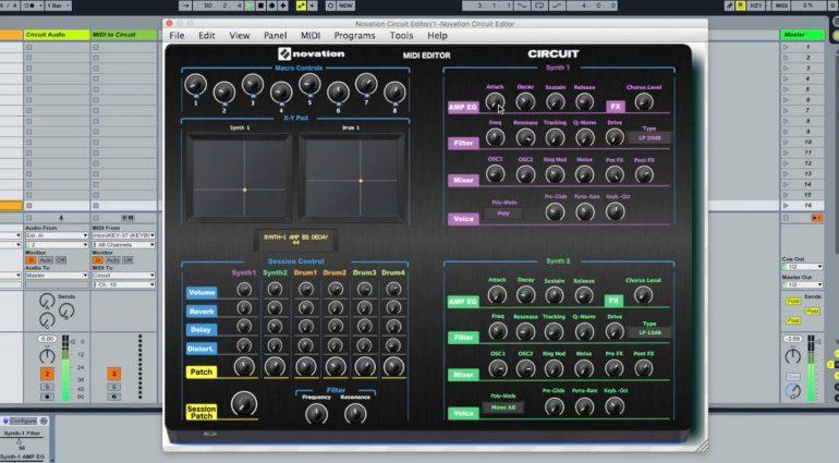 Momo Müller veröffentlicht Novation Circuit MIDI Editor