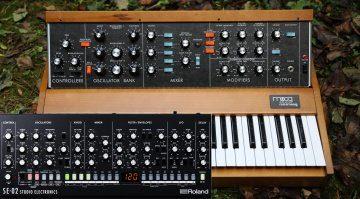 Moog vs Moog Monophone Synths