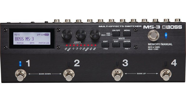 Boss MS-3 Multi Effects Switcher pedal