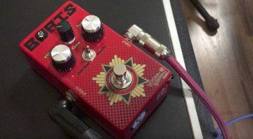 Nordstrand Rocket Surgeon Boris Big Muff Fuzz Pedal Front