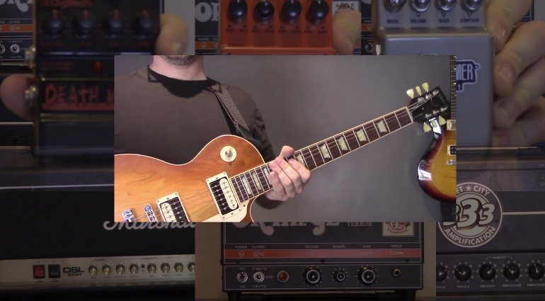 Pedal vs Amp Shootout Video Blindtest Teaser