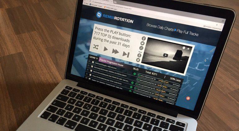 RemixRotation: Online-Preisvergleich für elektronische DJ-Musik