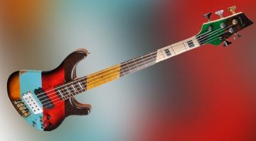 Sandberg CITES Steamed Oak Patchwork E-Bass Teaser