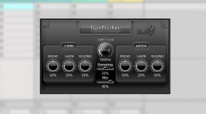 SaschArt TwinCrusher Plug-in VST Distortion Multiband GUI Ableton Live 9