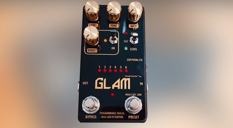 Servus!Pedale Glam Distortion Front TEASER