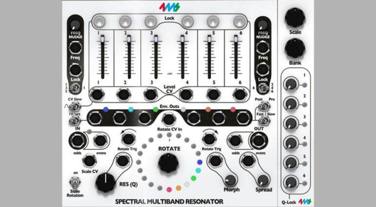 4ms Spectral Multiband Resonator für Softube Modular