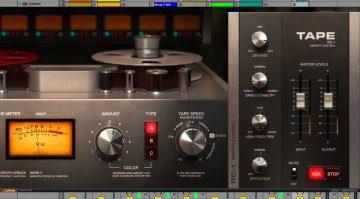 Softube Tape -dreivirtuelle Bandmaschinen in einem Plug-in