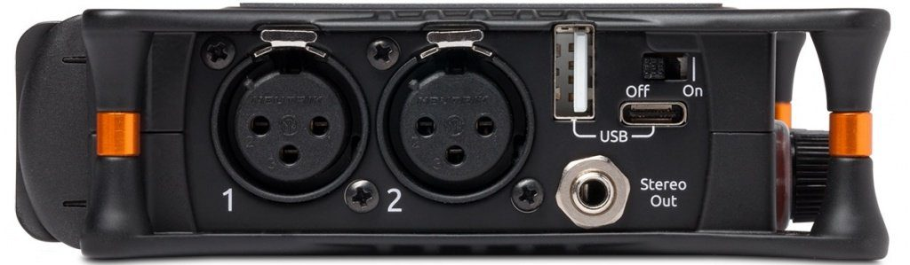 Sound Devices MixPre 3 Left Panel
