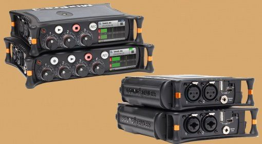 Sound Devices MixPre-3 MixPre-6 Field Recorder Front Back Teaser