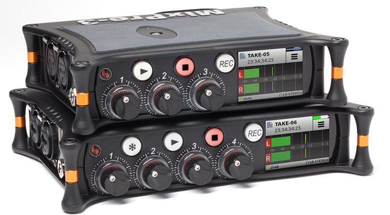 Sound Devices MixPre-3 MixPre-6 Field Recorder Front