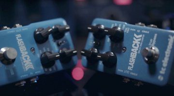 TC Electronic Flashback 2 Delay Pedal Front Teaser
