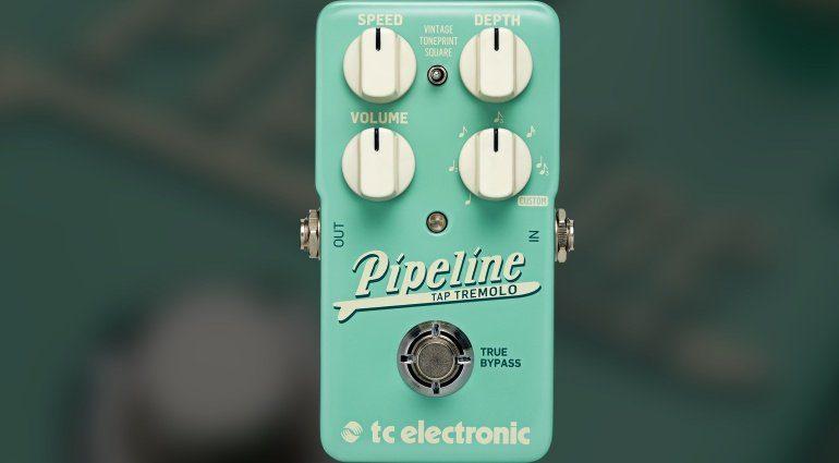 TC Electronic Pipeline Tremolo Effekt Pedal Front Teaser