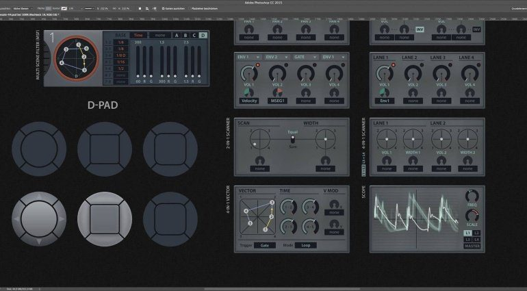 U-He zeigt neue Zebra 3 Design Konzepte