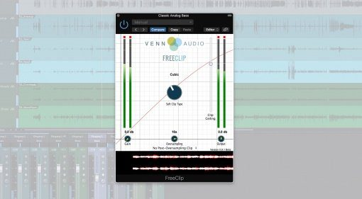 Venn Audio Free Clip Freeware Open Source Plug-in Effekt Teaser Studio One