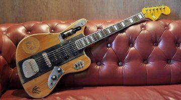 Veranda Guitars Whiskymaster Front