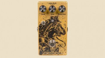 Walrus Audio Iron Horse V2 Pedal Front