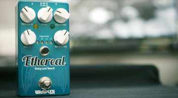 Wampler Etheral Delay Reverb Pedal Front