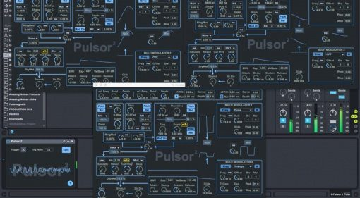 Amazing Noises Pulsor Suite - neuer monophoner Synth für Max for Live