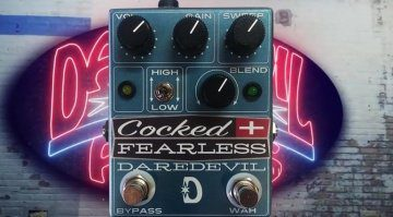 Daredevil Pedals Cocked Fearless pedal