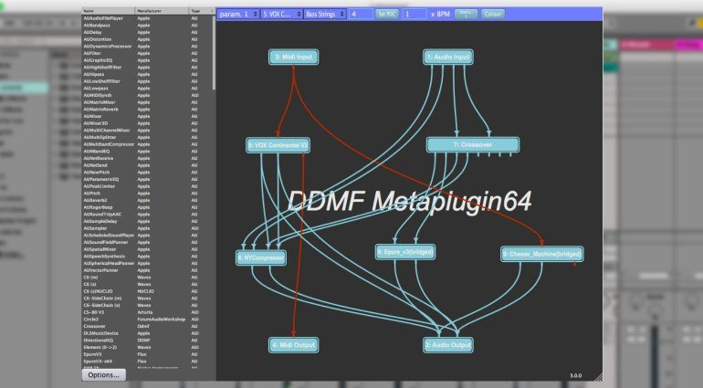 DDMF Metaplugin V3 - der multifunktionale Plug-in Wrapper wird größer