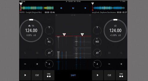 DJ Player 9.5 Screenshot Decks