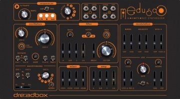 Dreadbox Medusa Synthesizer Front
