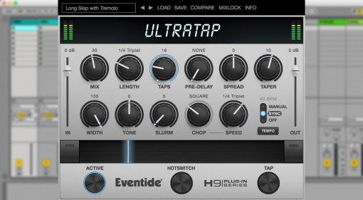 Eventide Ultratap - H9 Effekt als VST Plug-in